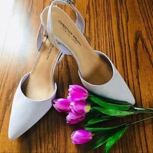 NWOT Christian Siriano Women's Lavender Heels
